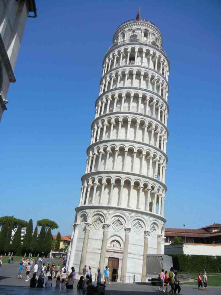 foto de ¿Por qué la Torre de Pisa está inclinada? Blog
