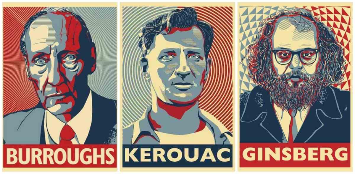 Kerouac, Ginsberg, Burroughts